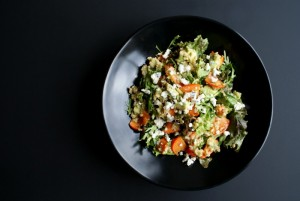 avocado-persimmon-salad-freekeh-fast-meals